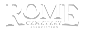 Rome Cemetery Association Logo